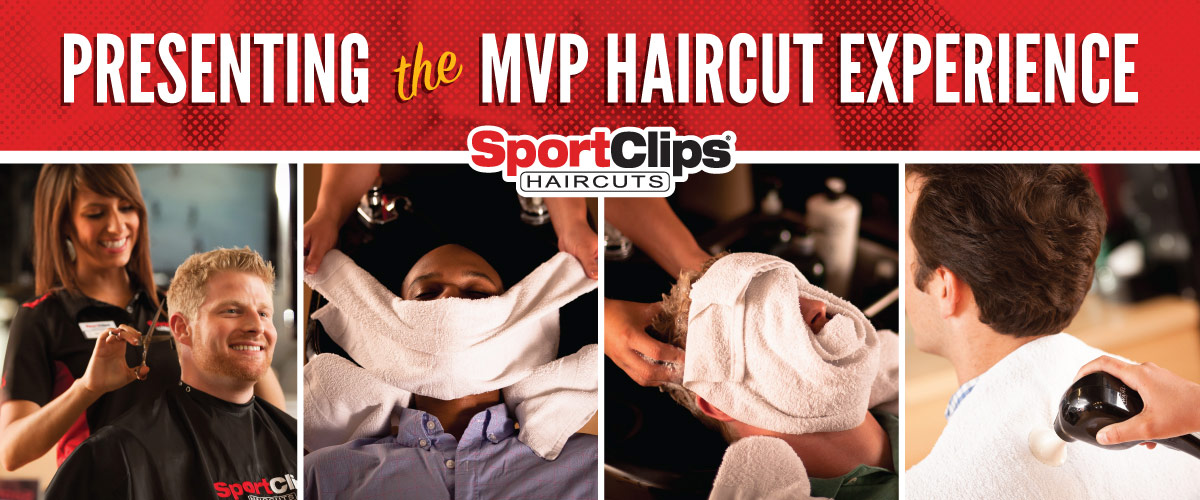 The Sport Clips Haircuts of Dobbin Center MVP Haircut Experience